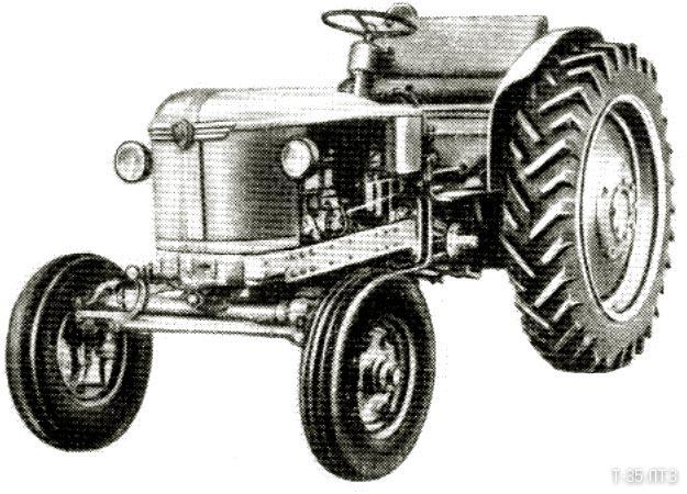 Трактор Т-30 - технические характеристики трактора Т-30.