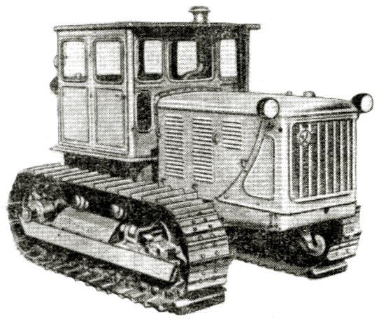Компоновка трактора выполнена по схеме с передним расположением двигателя и задним расположением трансмиссии и кабины...