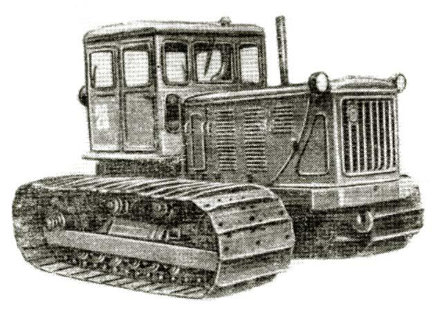 ТРАКТОР С-100 - трактор С-100ГС   с унифицированной.