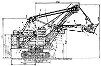 Экскаватор ЭКГ-8И (рис1) электрический полноповоротный предназначен для разработки и погрузки в транспортные средства...