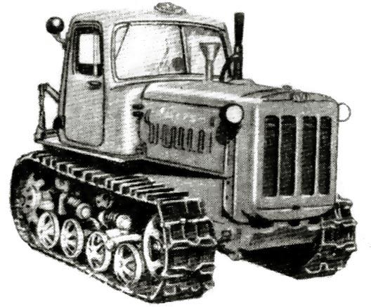 вес трактора дт 75 старого образца - фото 8