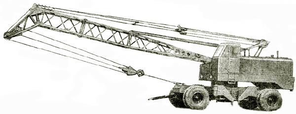 Пневмоколесный кран МКП-16
