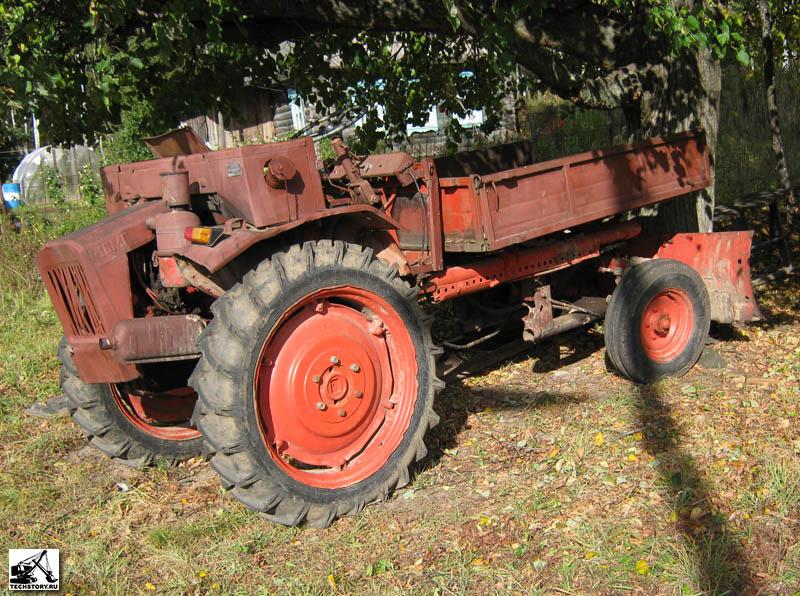 Малогабаритный гусеничный трелевочный трактор лмт-6