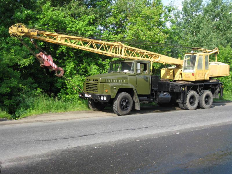 Кран КС-4562 шасси автомобиля