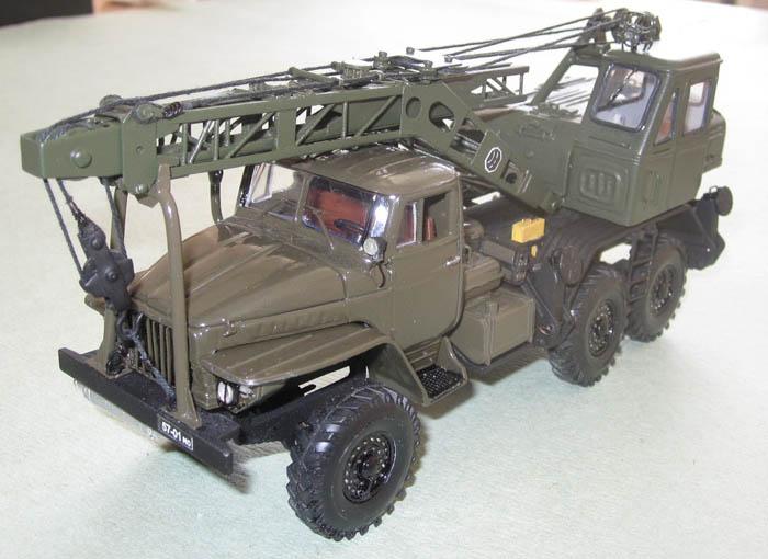 Модель автокрана 8т210 аркадия лучко