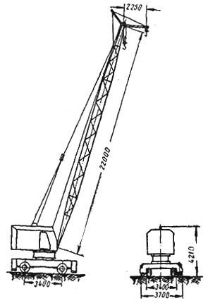 Пневмоколесный кран К-123
