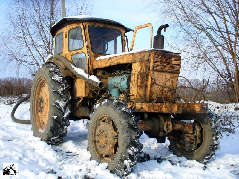 На трактор своими руками фото