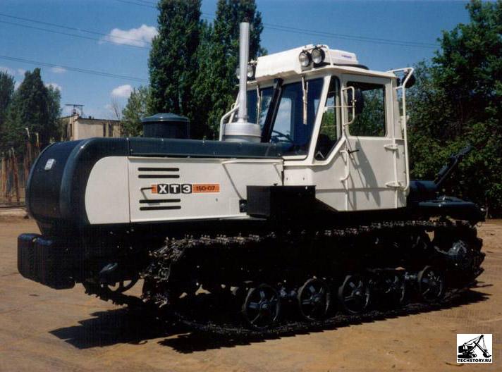 рассказ Трактор Т-150 К - YouTube