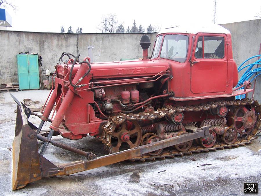 Трактор ДТ-75 бульдозер дт 75