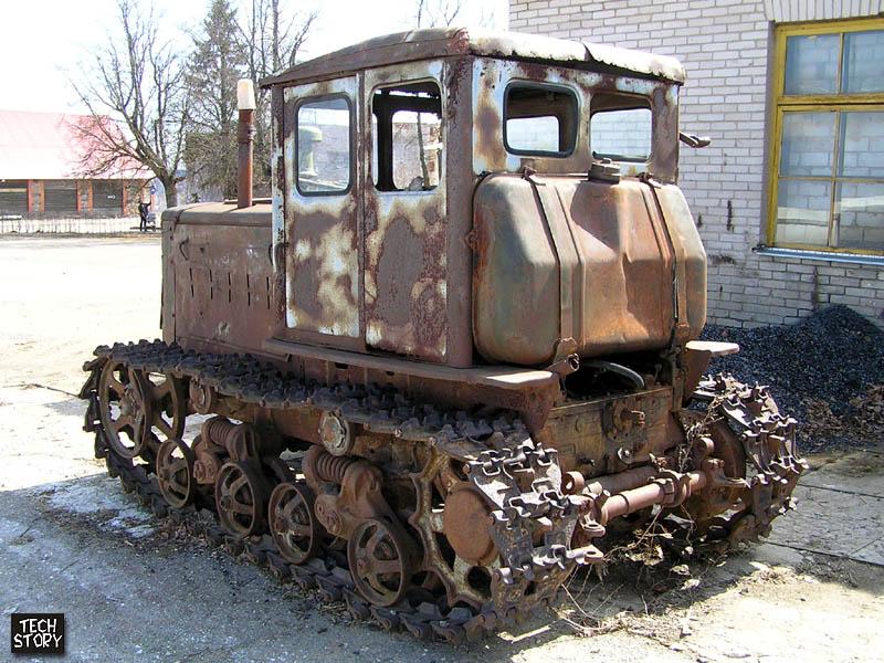 ДТ-75 Бульдозер (Обзор). - YouTube