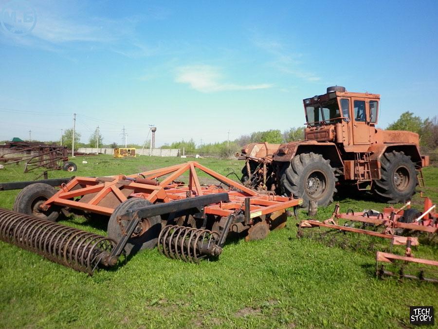 1:43 Трактор К.701М с журналом  Тракторы  №51