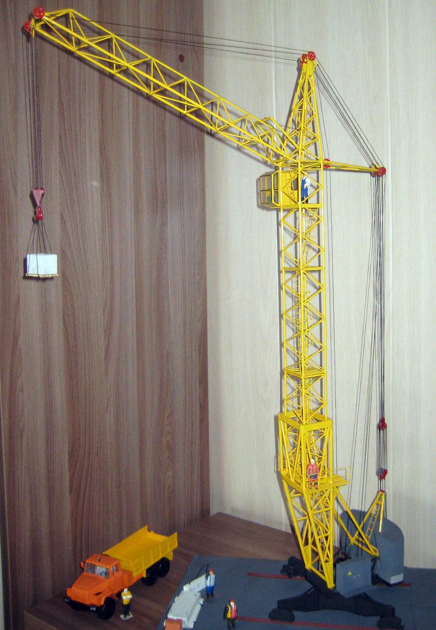 Игрушка своими руками : строительный мостовой кран Записки Механика
