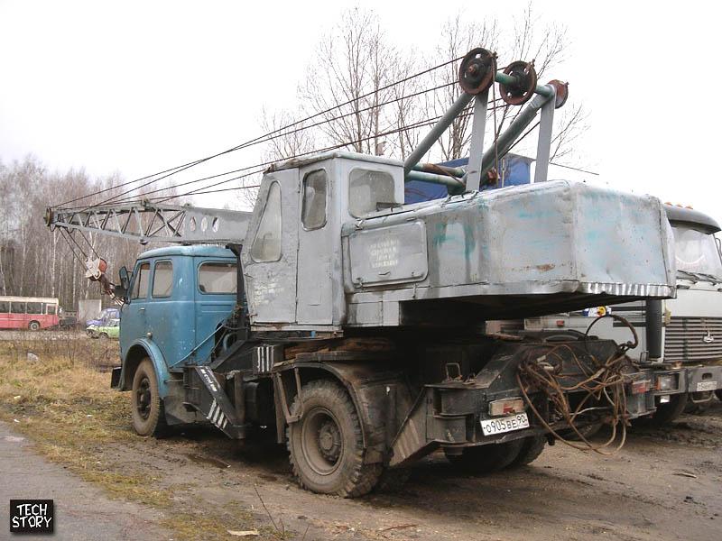 Услуги аренды автокранов в Брянске и Брянской области СМК-10 (12тн) .
