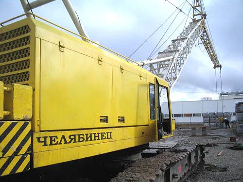 ОГМ240-38.  Общий вид крана с установленным прибором. нашего производства.  ДЭК-361 стал первым российским...