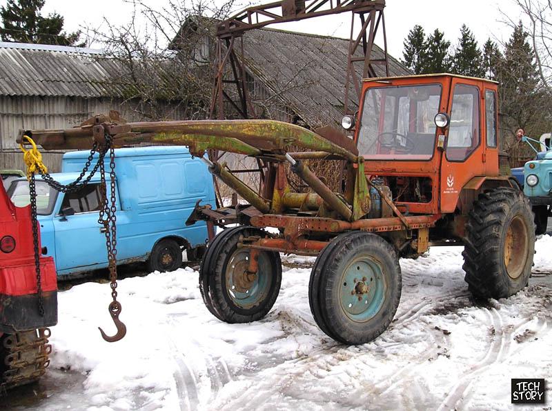Самоходное шасси Т-16М-У1 1985