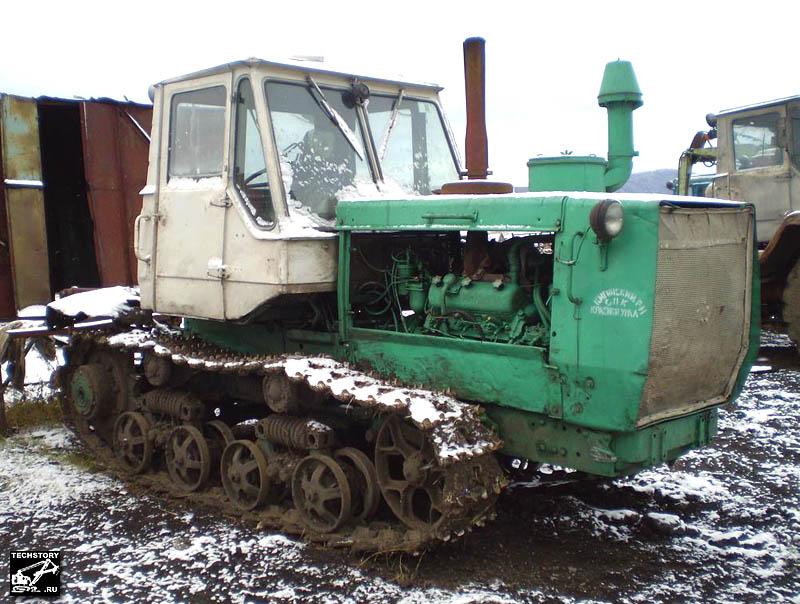 Гусеничные трактора Т-150, Т-153 и модификации. Фотогалерея сайта www.