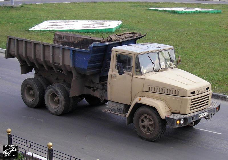 Украинский грузовик КрАЗ.