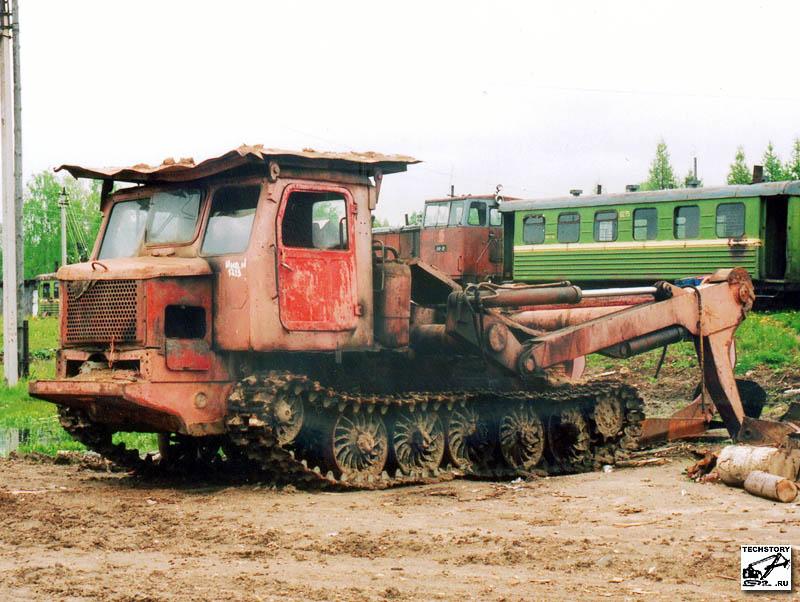 Трактор тт 4 фото