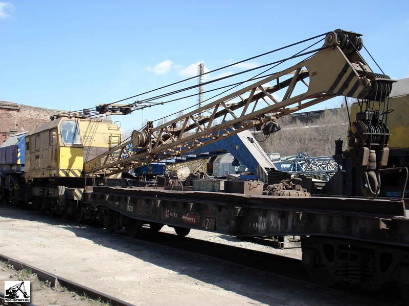 Железнодорожный кран КЖДЭ-25