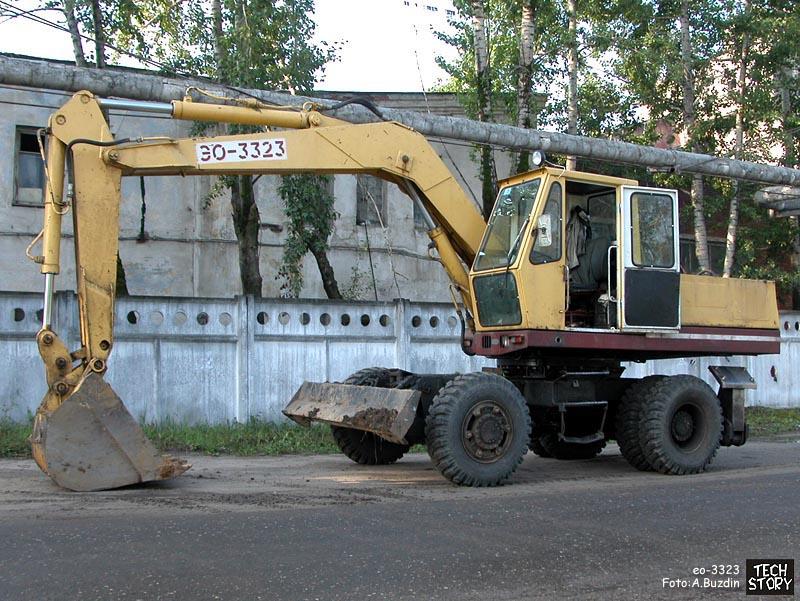 Экскаватор ЭО-3323 с