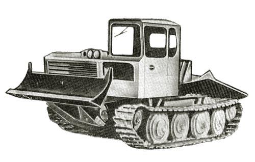 Тракторы Онежского тракторного завода. Фотогалерея сайта.