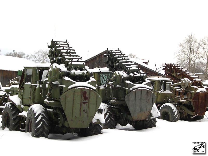 Полковая землеройная машина ПЗМ-2 на базе трактора Т-155 ... | 600x800